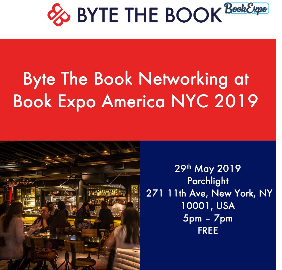Porchlight New York: Byte The Book Networking At Book Expo America NYC 2019